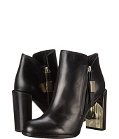 See by Chloe - Heel with Metallic Detail Zip Bootie