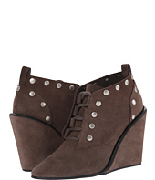 See by Chloe - Suede Lace Up Wedge Bootie with Studs