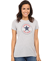 Converse - Core 2 Chuck Patch Short Sleeve Crew Tee Color Heather Triblend