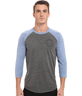 Converse - Core Patch Stars 3/4 Sleeve Raglan Triblend Tee