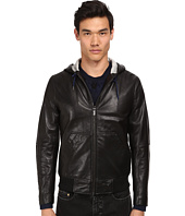 Marc by Marc Jacobs - Hooded Leather Jacket
