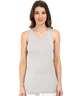 Michael Stars - Slub Sleeveless Racerback w/ Raw Edges