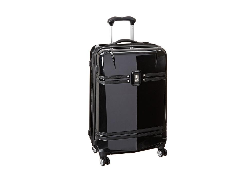 Travelpro Crew 10 Hardside 25 Expandable Spinner Black Luggage