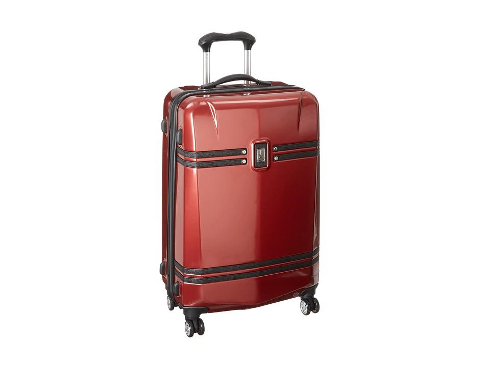 Travelpro Crew 10 Hardside 25 Expandable Spinner Merlot Luggage