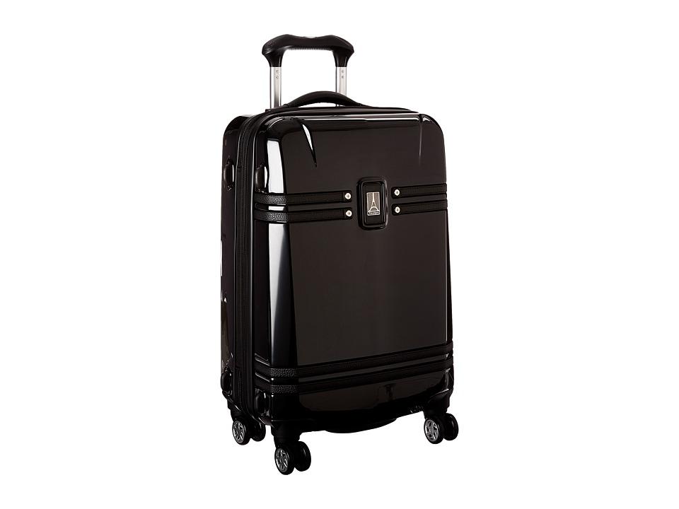 Travelpro Crew 10 Hardside 21 Expandable Spinner Black Luggage