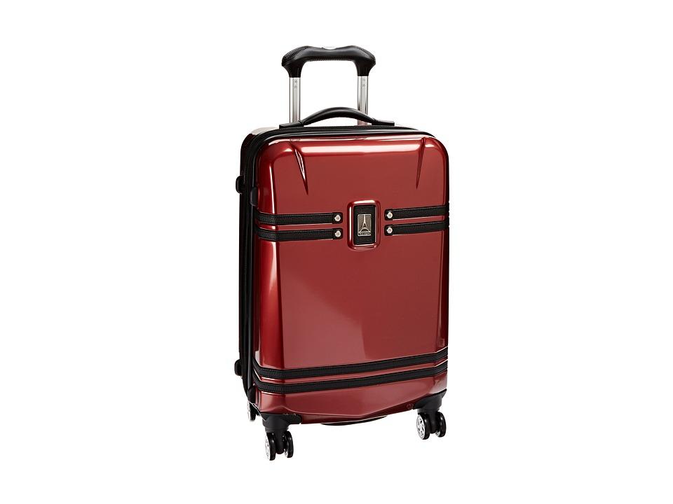 Travelpro Crew 10 Hardside 21 Expandable Spinner (Merlot) Luggage
