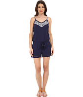 Michael Stars - Embroidered Gauze Romper