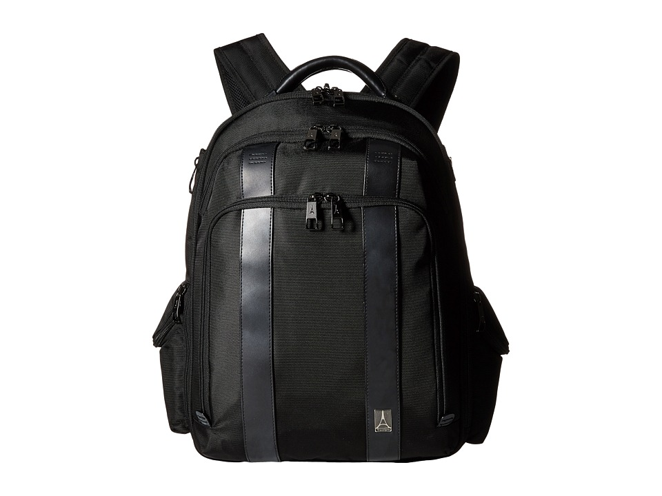 Travelpro - Executive Choice Checkpoint Friendly Computer Backpack (Black) Backpack Bags