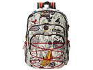 Sakroots Artist Circle Utility Backpack (Natural Peace)