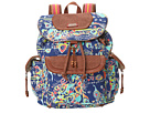 Sakroots Sakroots Artist Circle Flap Backpack (Denim Songbird)