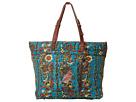 Sakroots Artist Circle Travel Bag (Teal Spirit Desert)
