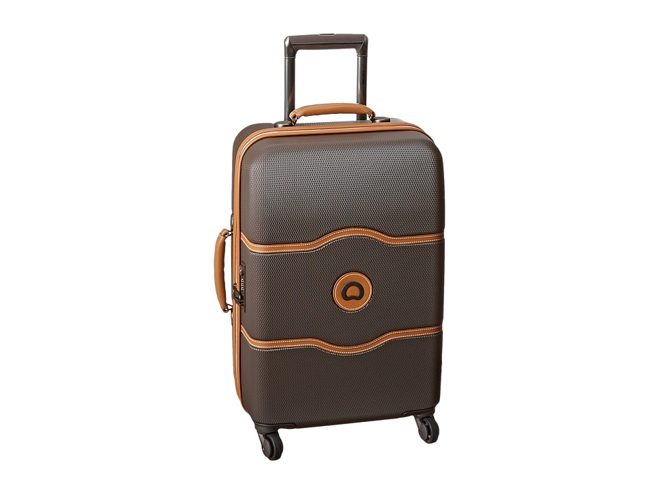 Delsey Chatelet 21 Carry On Trolley Brown Carry on Luggage