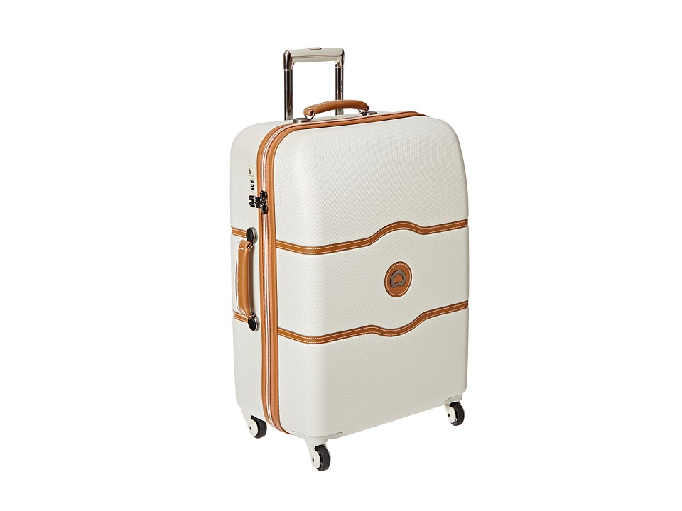 Delsey Chatelet 24 Spinner Trolley Champagne Pullman Luggage