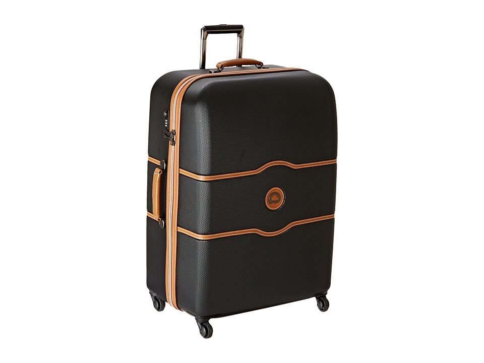 Delsey Chatelet 28 Spinner Trolley Black Pullman Luggage
