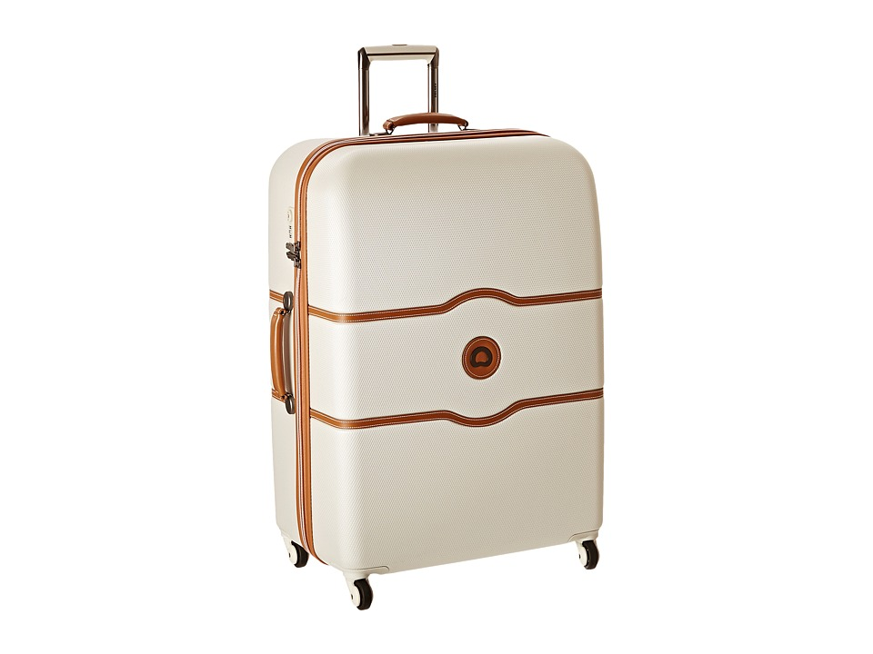 Delsey Chatelet 28 Spinner Trolley Champagne Pullman Luggage