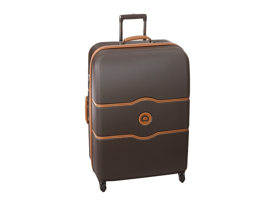 Delsey Chatelet 28 Spinner Trolley Brown Pullman Luggage