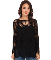 Free People - Filet Crochet Sweater