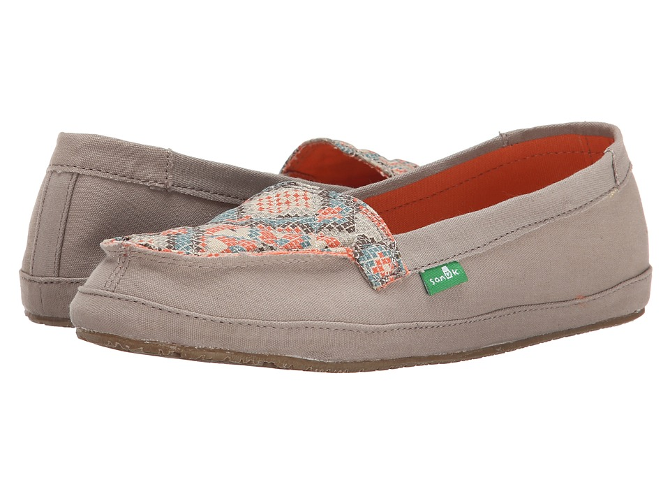 Sanuk - Cross Stitch (Stone/Melon) Women