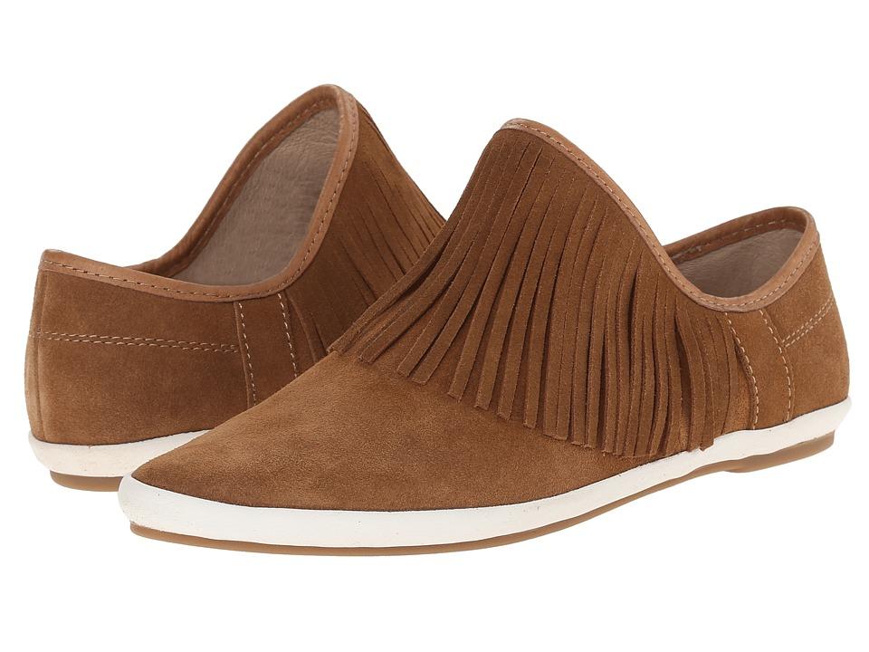 Sanuk Kat Fringe Chestnut Womens Slip on Shoes