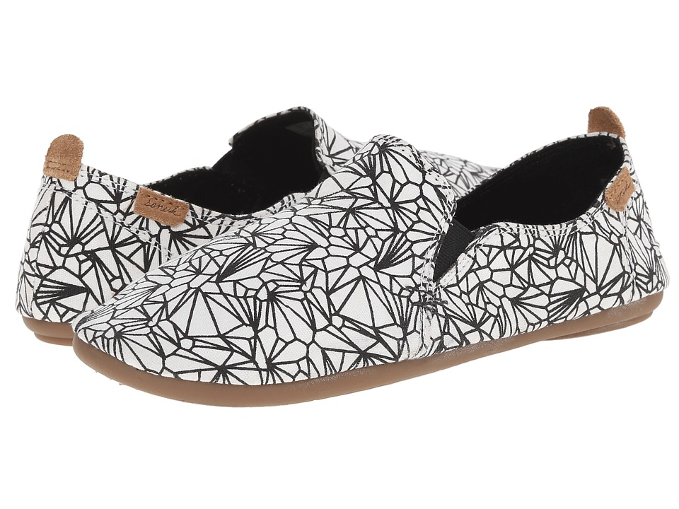 Sanuk - Isabel Prints (White/Black) Women