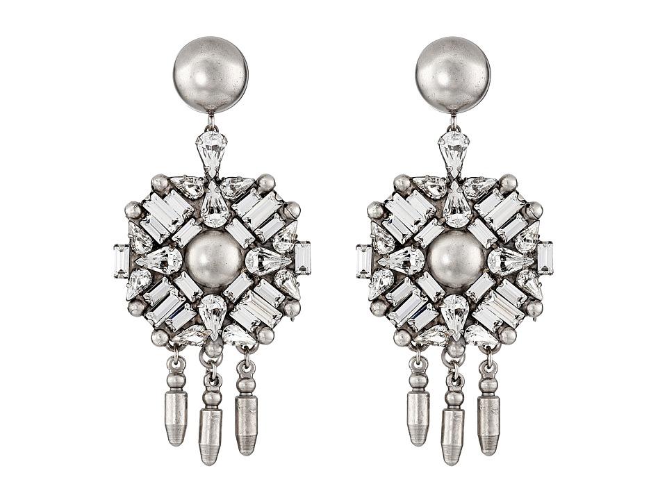 DANNIJO ROURKE Earrings Silver/Crystal Earring