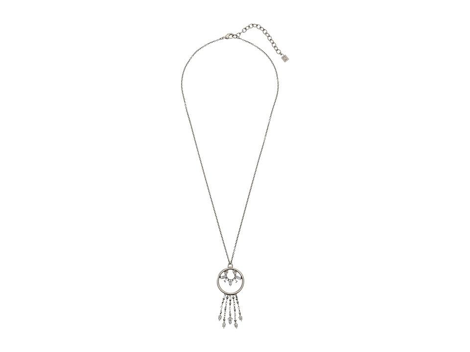 DANNIJO KAMDEN Necklace Silver/Crystal Necklace