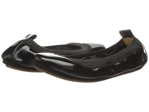 Yosi Samra Kids Sammie Super Soft Ballet Flat (Toddler) - Black Patent Leather
