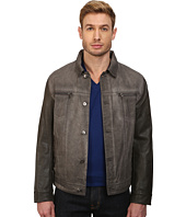 Kenneth Cole New York - Denim Zip Front Jacket
