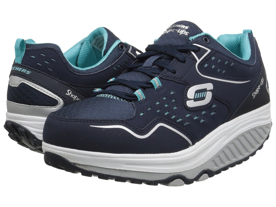 skechers shape ups 2 0 comfort stride gray mint. Black Bedroom Furniture Sets. Home Design Ideas
