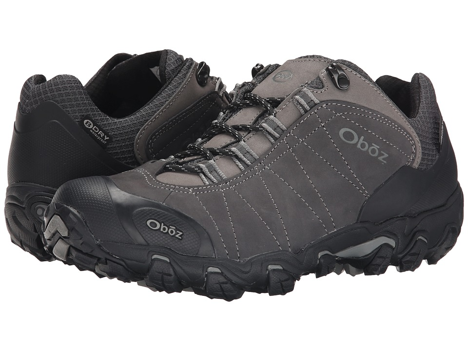 Oboz Bridger Low BDry Dark Shadow Mens Shoes