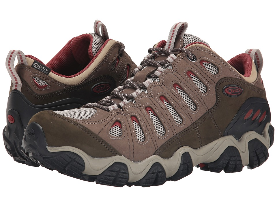 Oboz Sawtooth Low BDry Russet Mens Shoes