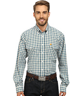 Cinch - Long Sleeve Plain Weave Plaid Double Shirt