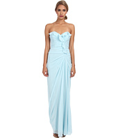 Badgley Mischka - Ruffle Strapless Gown