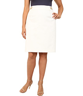 Calvin Klein Plus - Plus Size Pencil Skirt w/ Hardware