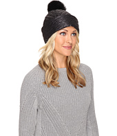 UGG - Quilted Fabric Hat w/ Pom