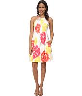 Calvin Klein - Print Scuba Halter Dress
