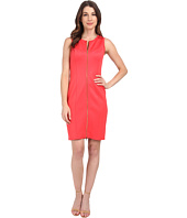 Calvin Klein - Scuba Dress w/ Center Zip