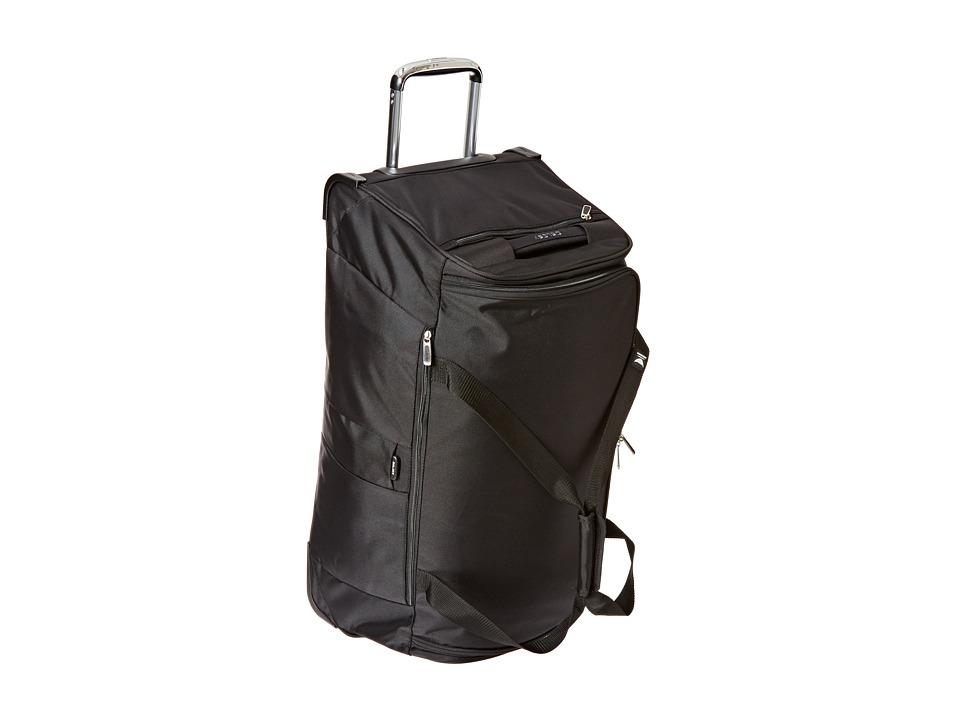 Delsey - Helium Cruise 30 Trolley Duffel (Black) Duffel Bags