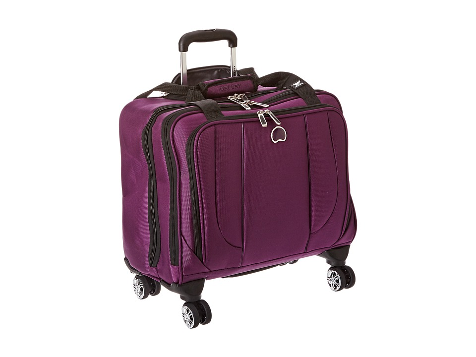 Delsey - Helium Cruise Spinner Trolley Tote (Purple) Tote Handbags