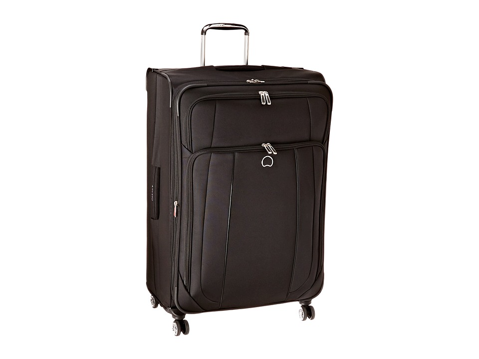 Delsey - Helium Cruise 29 Expandable Spinner Suiter Trolley (Black) Suiter Luggage