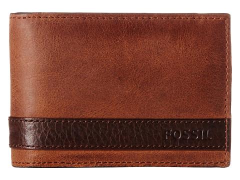 Fossil Quinn Money Clip Bifold - Brown