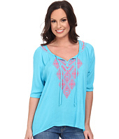 Rock and Roll Cowgirl - 3/4 Sleeve Top