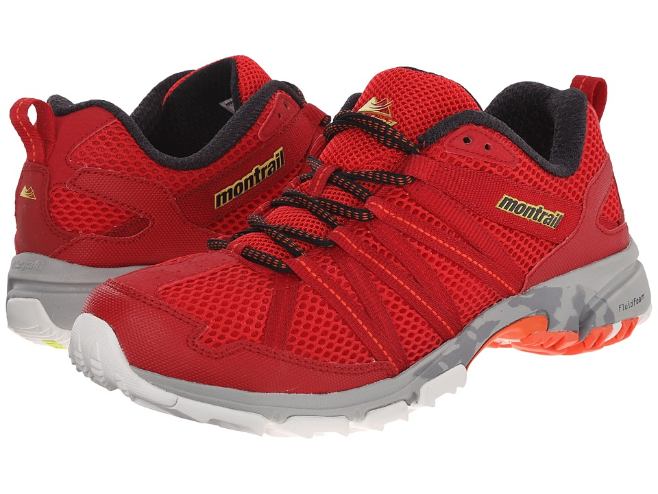 Montrail - Mountain Masochist III (Bright Red/Black) Men