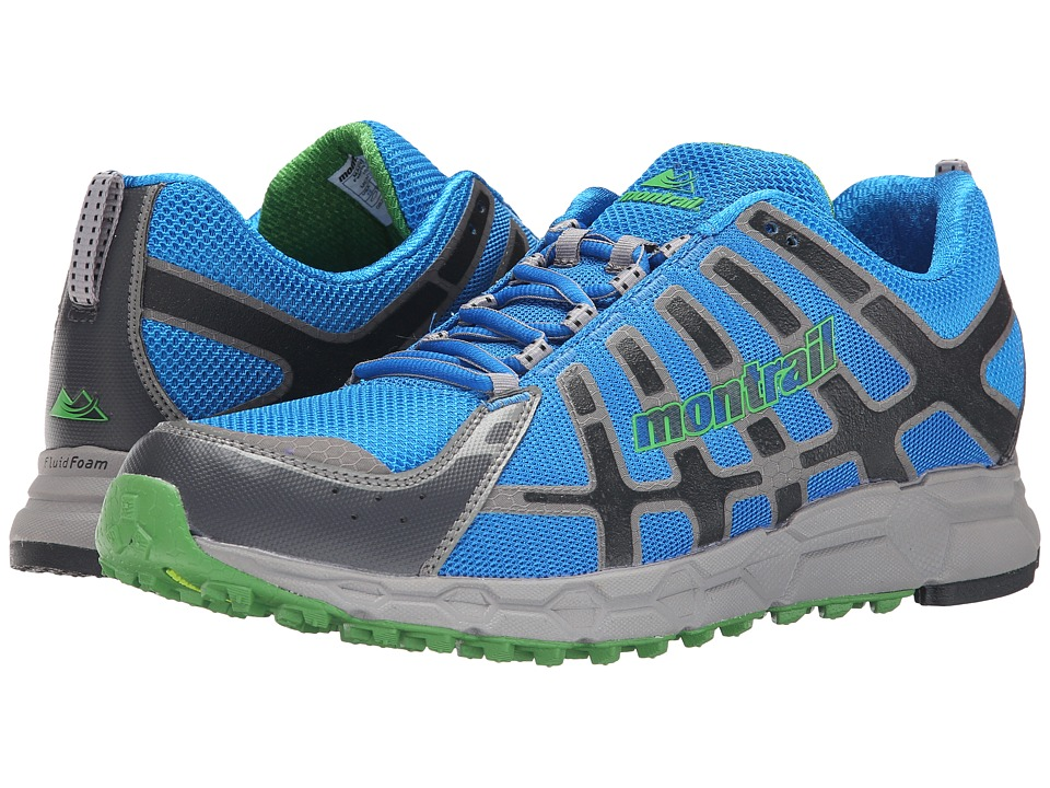 Montrail Bajada II Hyper Blue/Clean Green Mens Shoes