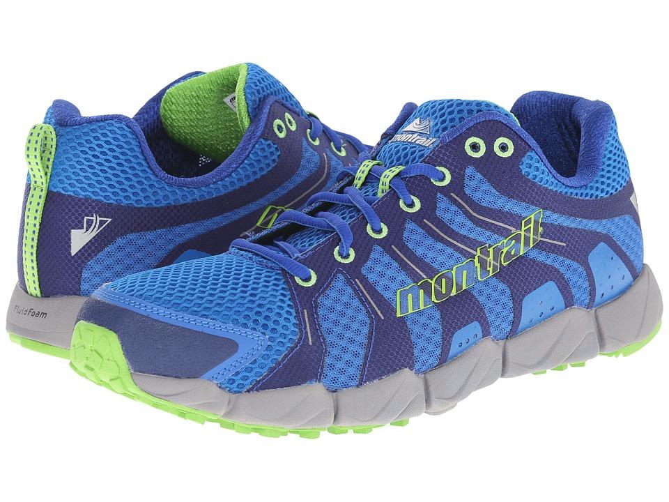Montrail Fluid Flex ST Blue Jay/Nuclear Mens Shoes