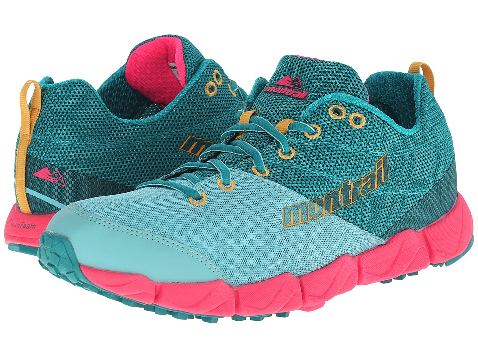 Montrail Fluid Flex II (Sea Level/Yellow Curry) Women