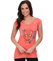 Rock and Roll Cowgirl - Capsleeve T-Shirt