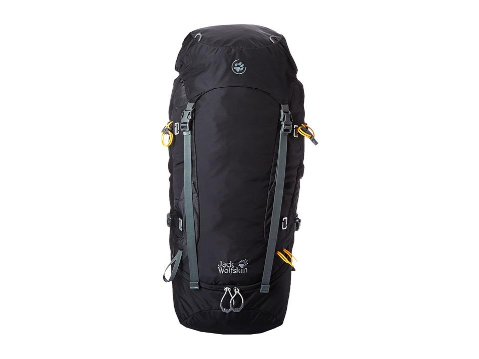 Jack Wolfskin EDS Dynamic 48 Pack Black Backpack Bags