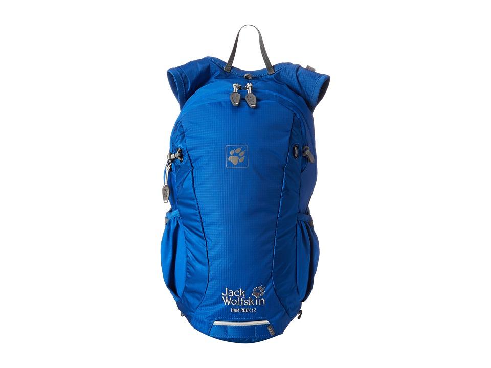 Jack Wolfskin Ham Rock 12 (Classic Blue) Backpack Bags