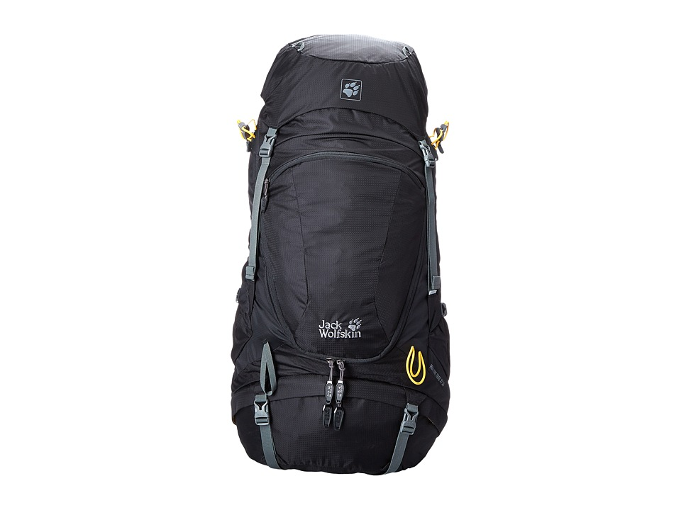 Jack Wolfskin - Highland Trail XT 50 (Black) Backpack Bags